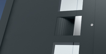 Hliníkové domovní dveře