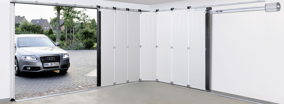 Boční sekční garážová vrata